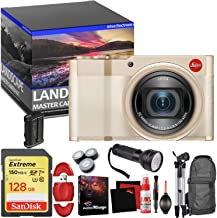 Leica C-Lux Digital Camera (Light Gold) - Master Landscape Photographer Kit - Memory Card - Accessories