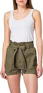Only Onlsmilla Stripe Belt Dnm Shorts Noos Pantalones Cortos para Mujer