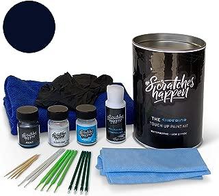 ScratchesHappen Exact-Match Touch Up Paint Kit Compatible with Audi Navarra Blue (LX5H/2D) - Complete