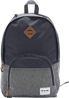 Animal Mens Clash School College Two Strap Backpack Rucksack Bag - Navy