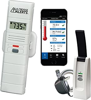La Crosse Alerts Mobile 926-25100-WGB Wireless Monitor System with Temperature & Humidity