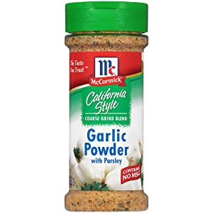 McCormick California Style, Garlic Powder with Parsley, 6 oz