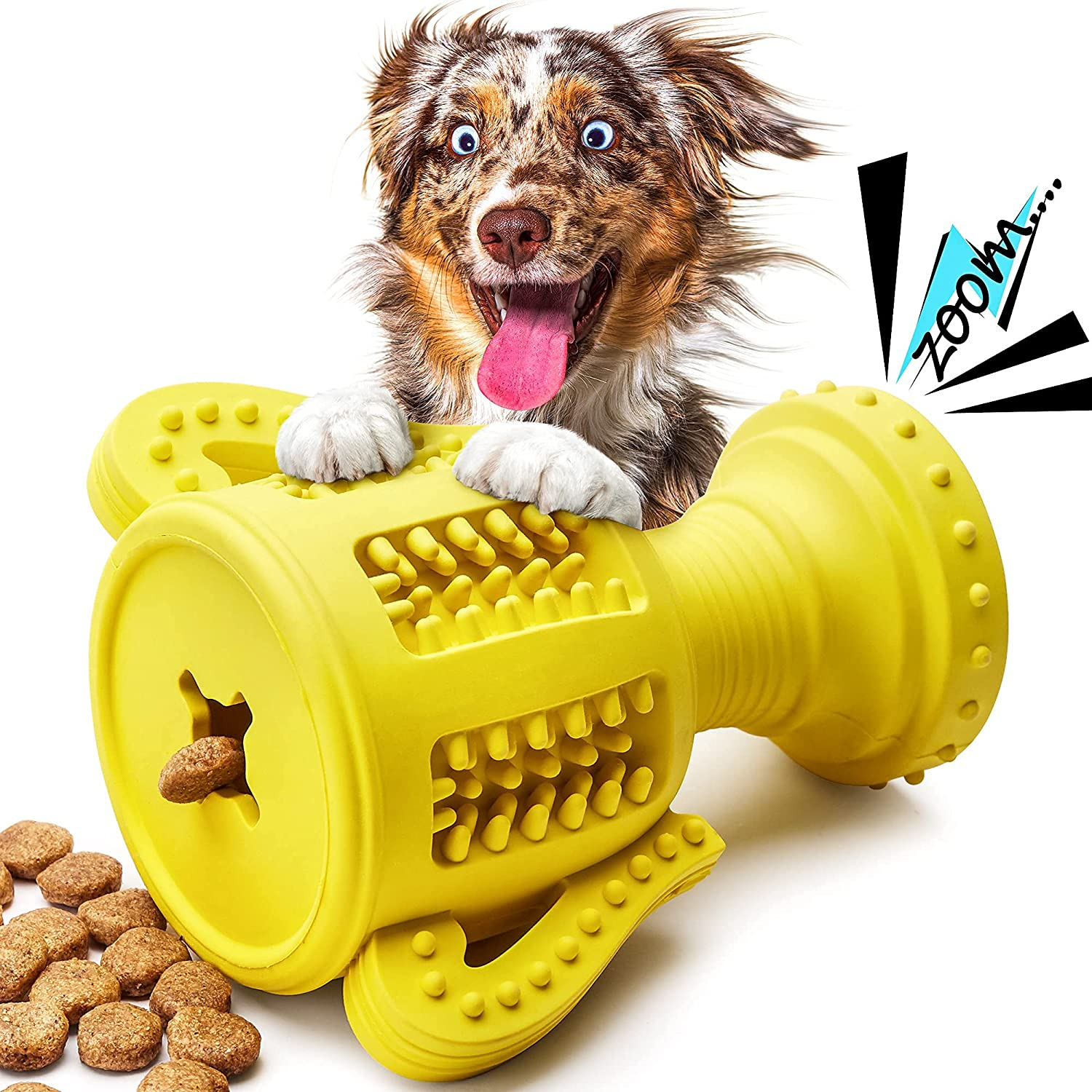 Dog Max 46% OFF Toys for A surprise price is realized Aggressive Dispensing To Chewers Treat