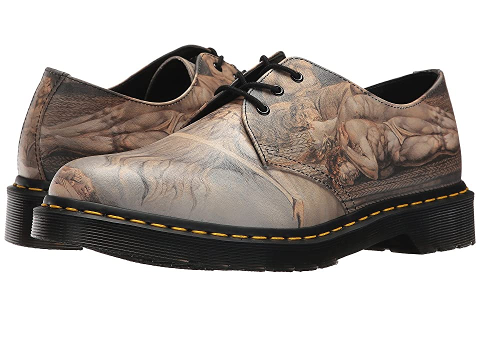 Dr. Martens William Blake 1461 3-Eye Shoe (Multi William Blake Backhand) Lace up casual Shoes