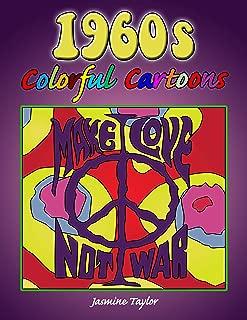 1960s Colorful Cartoon Illustrations