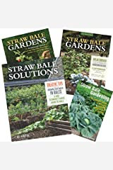 STRAW BALE GARDENS Collection of four books by Karsten, from his earliest to most recent, save on the entire collection. Paperback