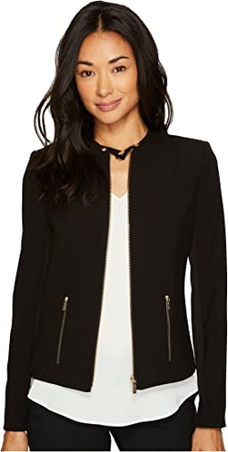 efd964c27ecf Calvin klein 3 4 sleeve with horizontal zips