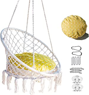 Best hanging swing chair cushion Reviews