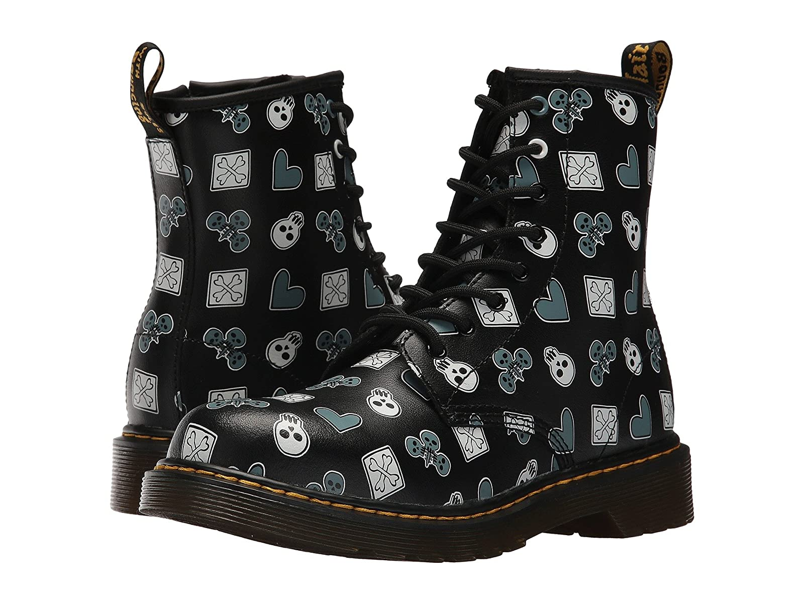 Dr. Martens Kid's Collection Delaney PC Lace Boot (Big Kid)Affordable and distinctive shoes