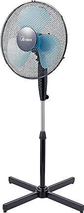 Ardes AR5EA40P Ventilatore Piantana, Nero, Pala 40 cm