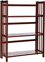 Casual Home 3-Shelf Folding Stackable Bookcase (27.5