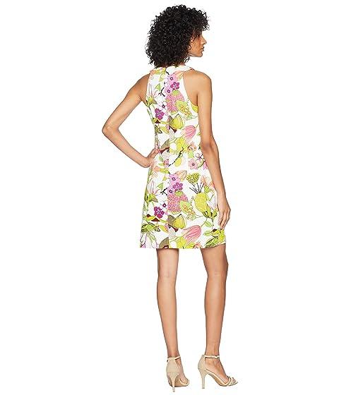 Official Site Cheap Price Outlet Inexpensive Trina Turk Aptos Dress Whitewash asoUrZR