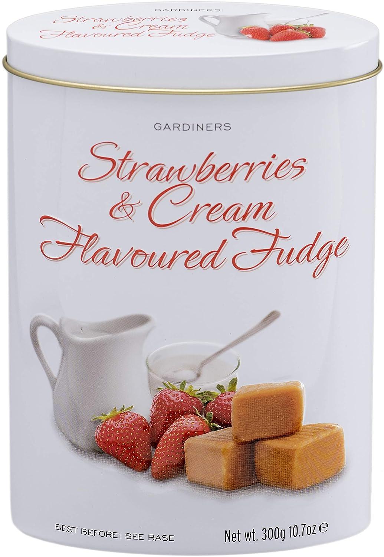 Gardiners Max 61% OFF Translated of Scotland Luxury Strawberries Fudge and 1 Tin Cream