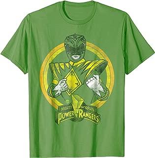Power Rangers - Green Ranger Character T-Shirt
