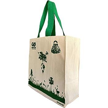 Ero Cotton bags Cotton Shoppers Bag (Beige_EB112019)