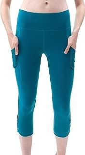 "QUEENIEKE Women 22"" Yoga Capris Running Pants Workout Legging - Tummy Control"