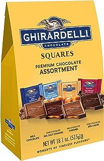 Ghirardelli Squares Premium Chocolate Assortment, 18.1 oz