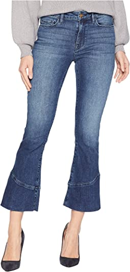 Connector Kick Crop Jeans in District Blue