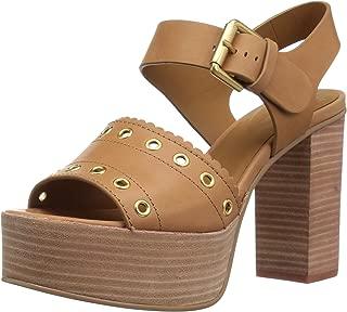 Women's Nora Platform Heeled Sandal Medium Brown 39 M EU (9 US)
