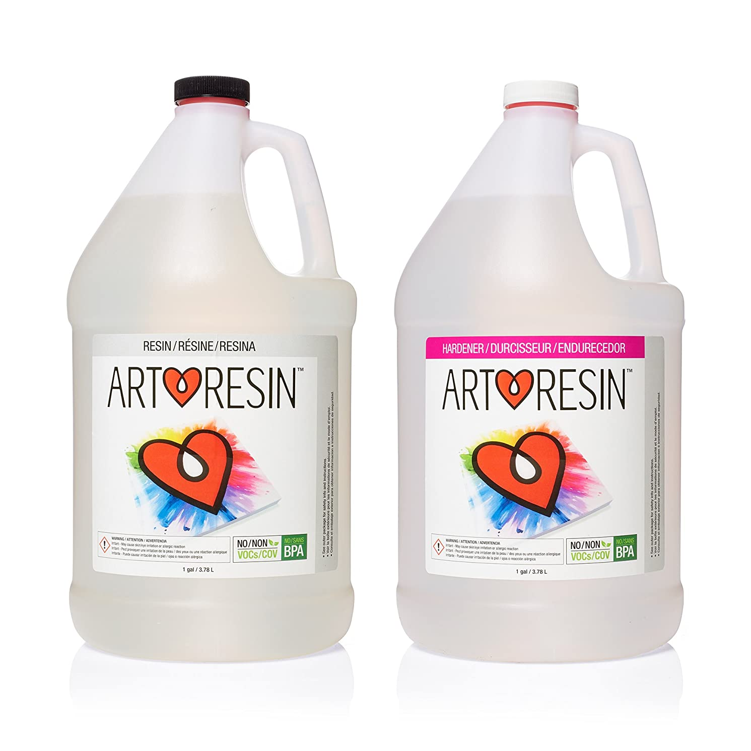 ArtResin - Epoxy Resin - Clear - Non-Toxic - 2 gal (7.57 L)