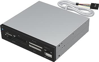 Sabrent 74-in-1 3.5-Inch Internal Flash Media Card Reader/Writer with USB Port (CR-USNT)