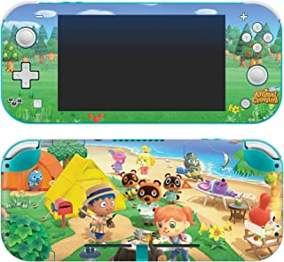 Controller Gear Authentic and Officially Licensed Animal Crossing: New Horizons - On The Beach - Nintendo Switch Lite Skin...
