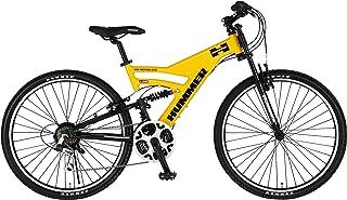 HUMMER(ハマー) フルサスペンション DH2618-E 26インチ マウンテンバイク 極太アルミフレーム Wサスペンション シマノ製18段変速機搭載 強靭なハマーのマウンテンバイク 13174