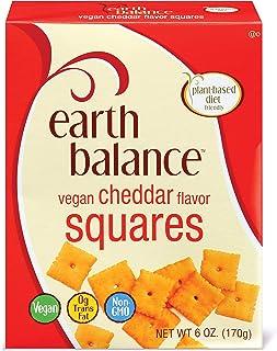 Earth Balance Vegan Cheddar Flavor Squares, 6 oz