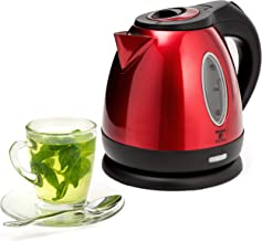 Moss & Stone Rapid Boil Electric Kettle, Cordless Pot 1.2L Portable Electric Hot Water Kettle, 1500W Strong d Tea Kettle (...