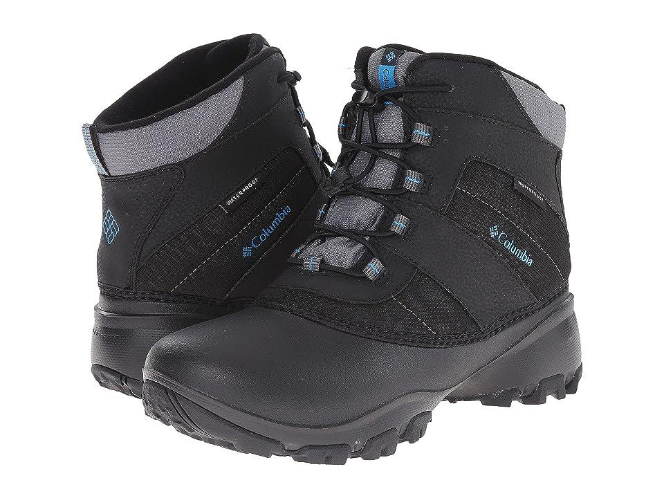 Columbia Kids Rope Towtm III Waterproof Boot (Toddler/Little Kid/Big Kid) (Black/Dark Compass) Boys Shoes