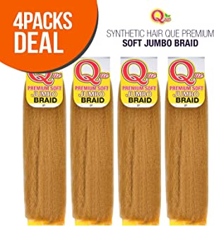 MULTI PACK DEALS! Milky Way Synthetic Hair Que Premium Soft Jumbo Braid (4-PACK, 30)