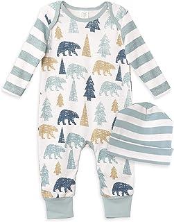 Baby Boy Clothes Soft Cotton Romper Bodysuit Gift Set...