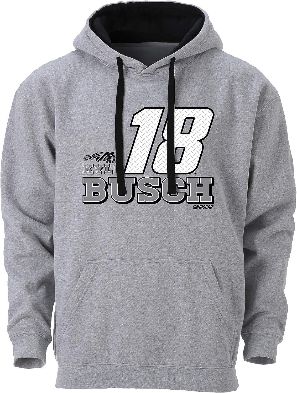 NASCAR Mens Benchmark Colorblock Pullover Hood