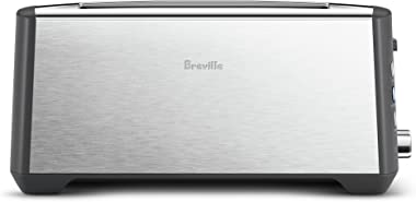 Breville Bit More Toaster, Brushed Stainless Steel BTA440BSS