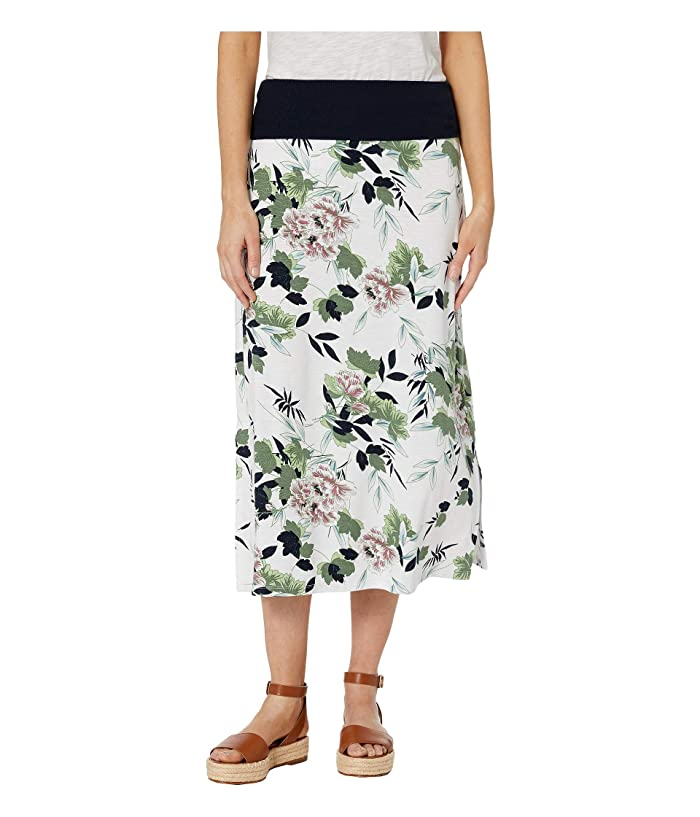 Tribal Printed Jersey Skirt Transformable To Dress (Soft Blue) Women