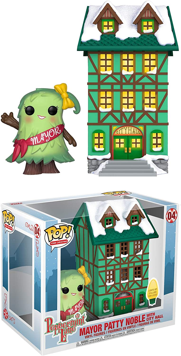 Mayor Patty Noble with City Hall: Pop 誕生日プレゼント Christmas 新発売 V Town Funko