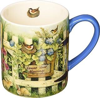 Lang Garden Gate Mug by Susan Winget, 14 oz., Multicolored