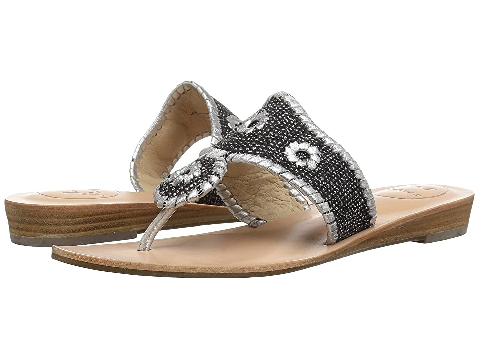Jack Rogers Everly (Black/Silver) Women