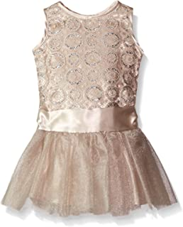 Biscotti Baby-Girls Luminous Lace Dress with Tulle Skirt