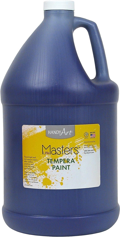Handy Art Little Masters Tempera Paint Gallon, purple