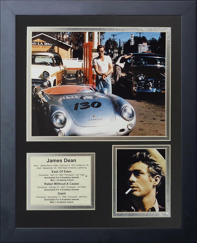 Legends Never Die James Dean Porsche Framed Photo Collage, 11 by 14-Inch