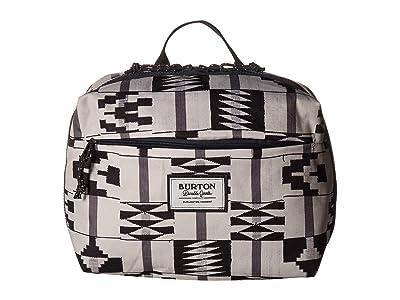 Burton High Maintenance Kit (Pelican Brickstripe Print) Travel Pouch