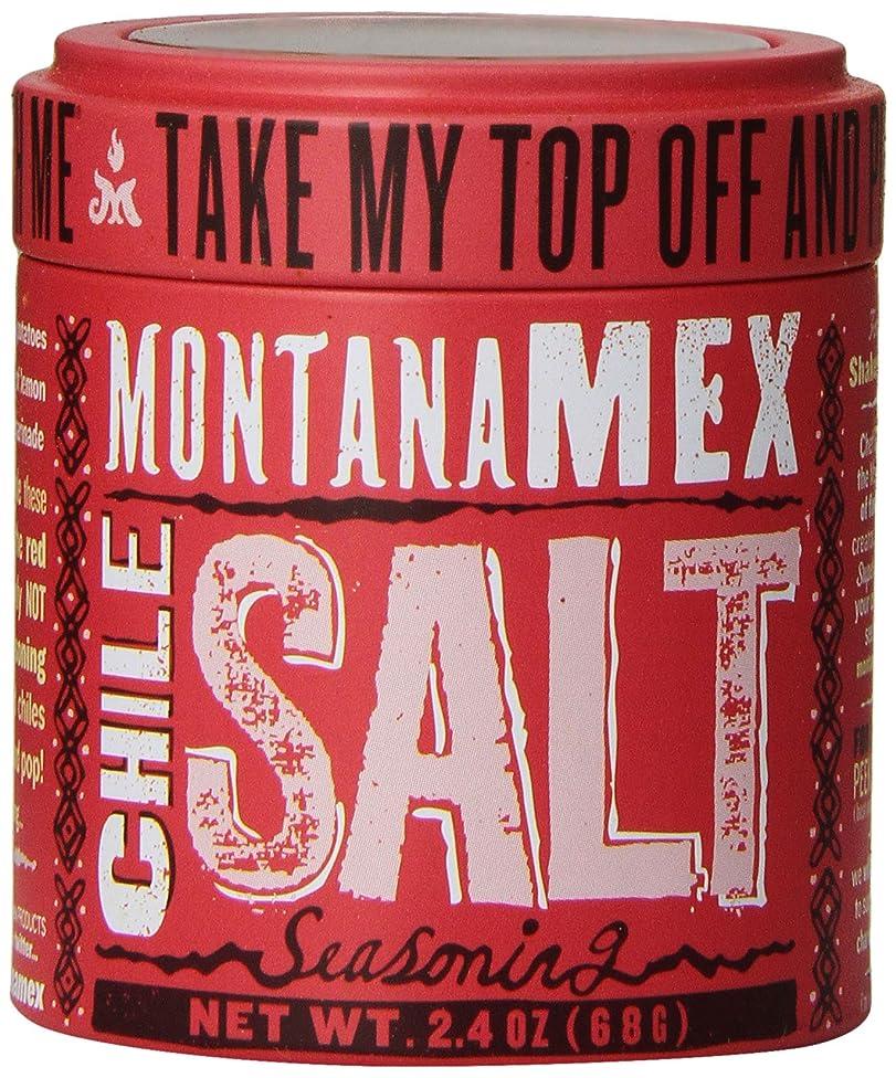 Montana Mex Chile Seasoned Sea Salt, 2.4 Ounce