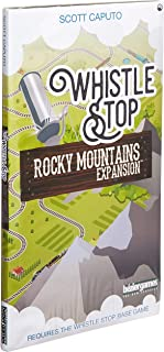 Whistle Stop Rocky Mountains Expansion Tabletop Game