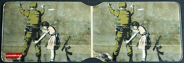 Banksy soldado y Chica tarjetero