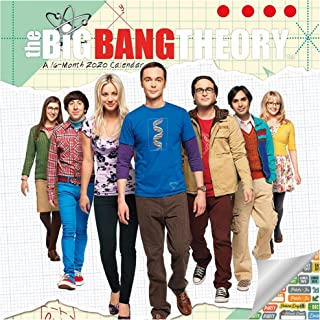 The Big Bang Theory Calendar 2020 Set - Deluxe 2020 The Big Bang Theory Mini Calendar with Over 100 Calendar Stickers (The Big Bang Theory Gifts, Office Supplies)