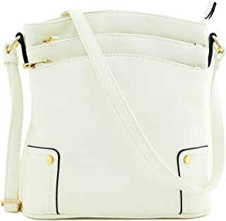 Amazon.com  Whites - Crossbody Bags   Handbags   Wallets  Clothing ... 54ee63773e7f8