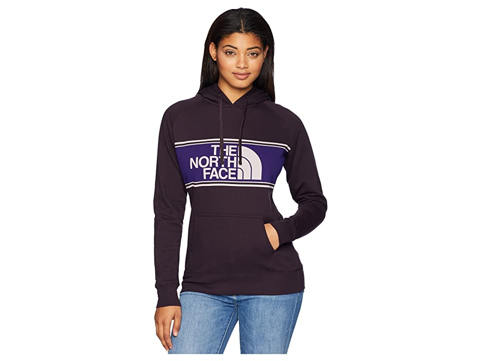 The North Face Edge to Edge Pullover Hoodie (Galaxy Purple) Women