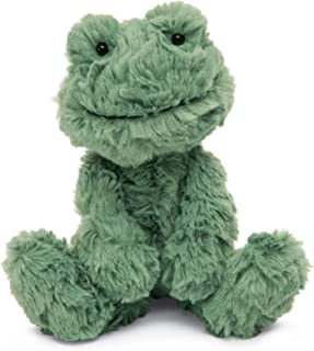 Jellycat Squiggle Frog Stuffed Animal, Small, 9 inches