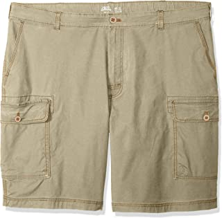"IZOD Men's Big and Tall Saltwater 10.5"" Cargo Short"